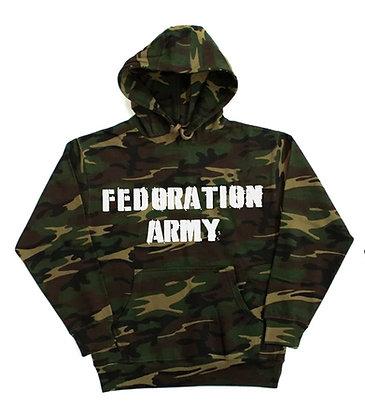 """Fedoration Army"" Hoodie"