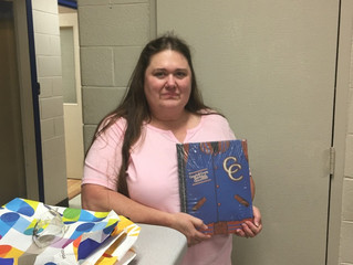 Yearbook Dedication Awarded to Mrs. Gina Adrian