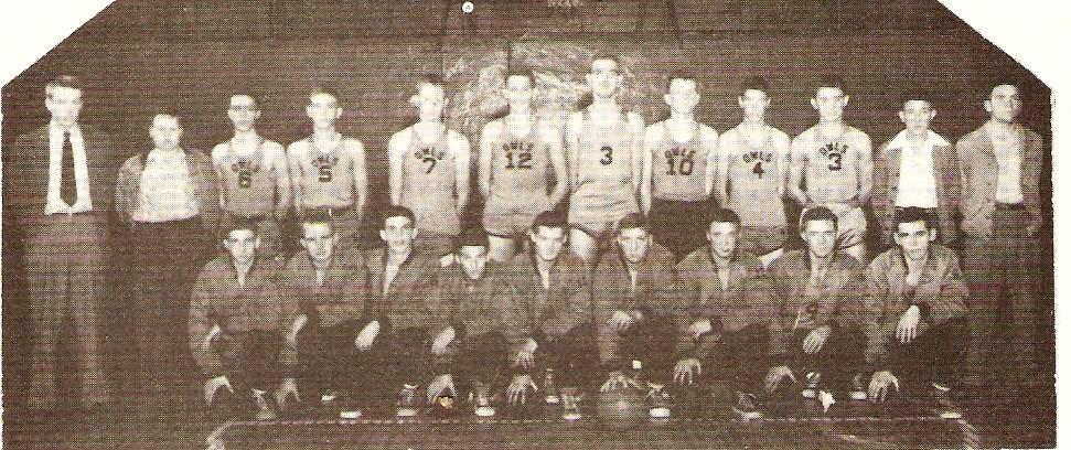 1950 Basketball Team LHS