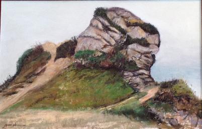 Rock Study - Brookings, Oregon