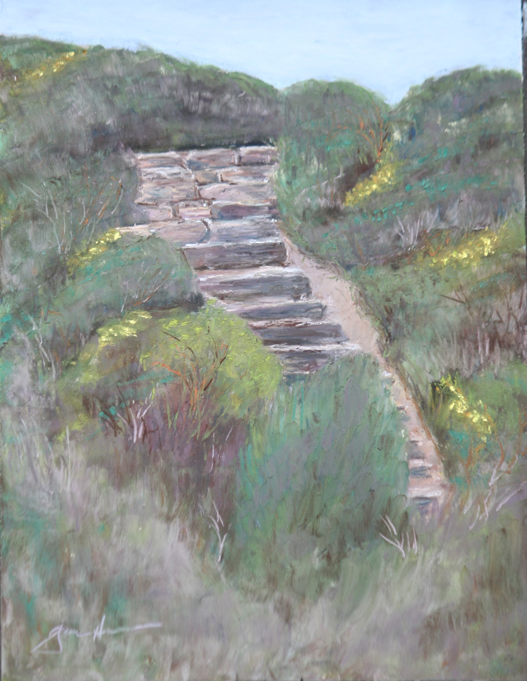 Steps at Whaler's Cove