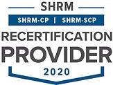 SHRM Recertification Provider CP-SCP Sea