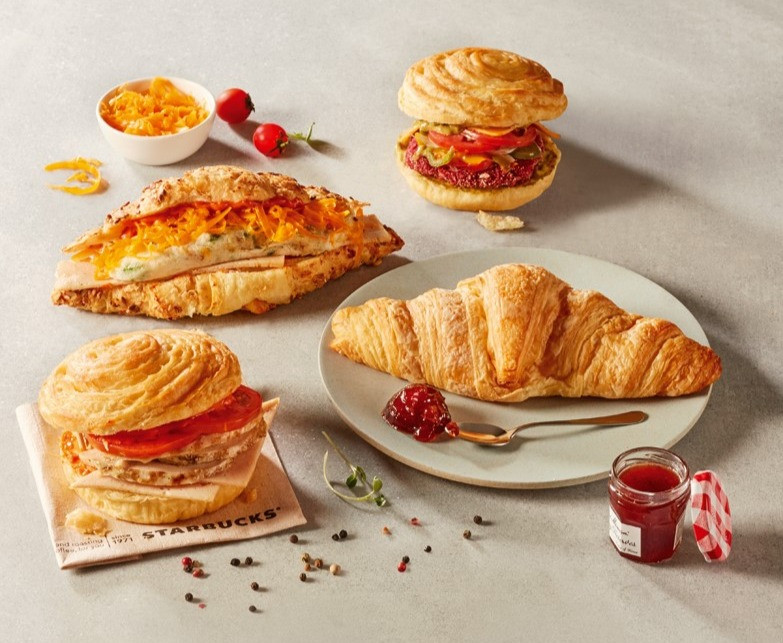 Food Styling for Breakfast Items - Starbucks