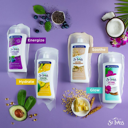 Food Styling for Lotions - St. Ives