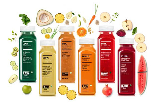 Cold Pressed Juices - Raw Pressery