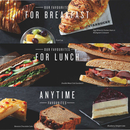 Meals for the Day - TATA Starbucks