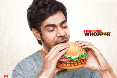 Commercial Food Photography -Burger King