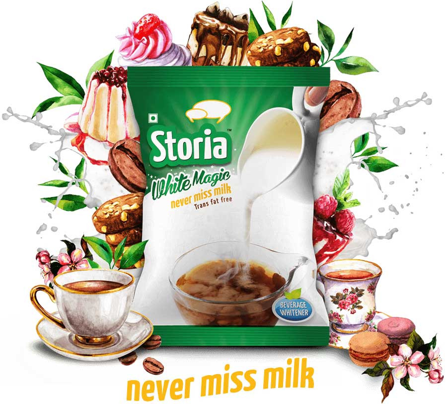 Food Styling & Photography for Packaging - Storia