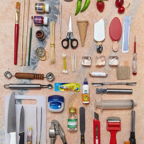 Most Essential Tools for Food Styling: Part 1
