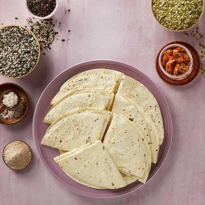 Indian Snacks Photography - Bikaji Papad