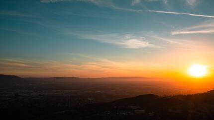 20180926 Wildwood Canyon Sunset Contrast