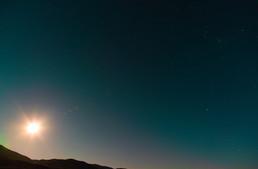 20200208 Big Pine Moon Star Sky Long Exp