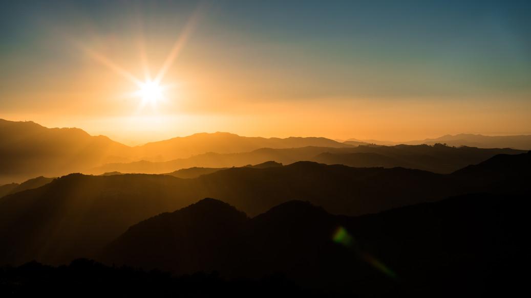 20160902 Topanga Golden Sunset Layers.jp