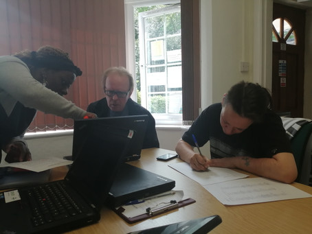 New Job Search Course progressing well