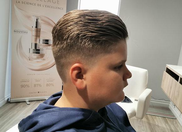 Coupe de cheveux enfant (6 à 12 ans)