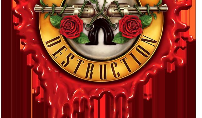Lies N' Destruction Blood Bullet Logo