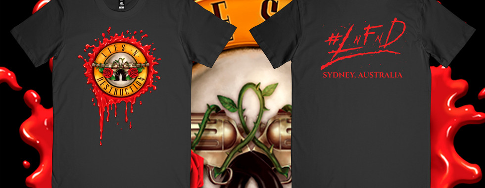 Blood Bullet Male T - Click Shop To Buy