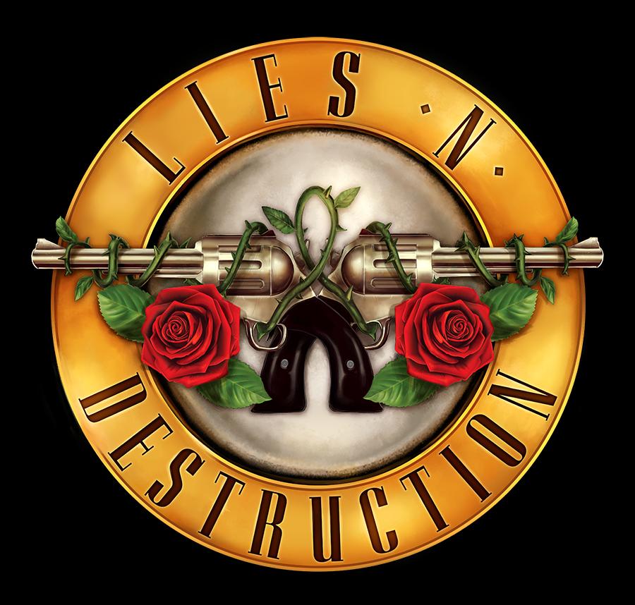 Lies N' Destruction Bullet Logo