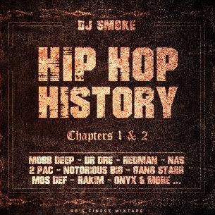 Hip Hop History Chapters 1 & 2 (Double CD Digipack Boxset)