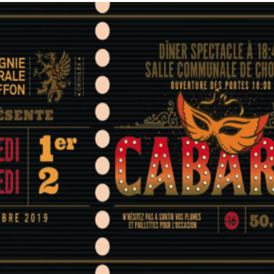 Dîner spectacle de cabaret burlesque / Burlesque cabaret-diner show