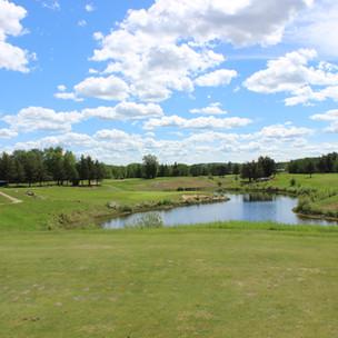 Road trip, Athabasca Golf Club
