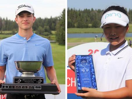 Red Deer golfers take home titles at the U17, U15, U13 Alberta Championships
