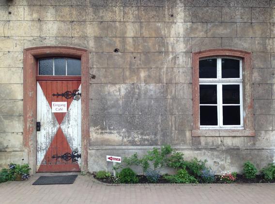 Die ehemaligen Stallungen
