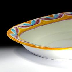 platter square bottom (detail view)