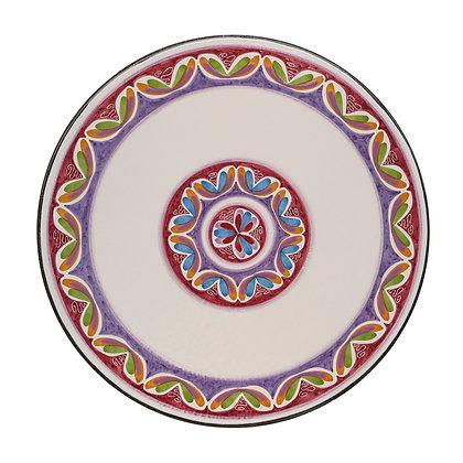 """TA002 - Tavolo in pietra lavica dell'Etna ceramizzato """"Aiuola"""