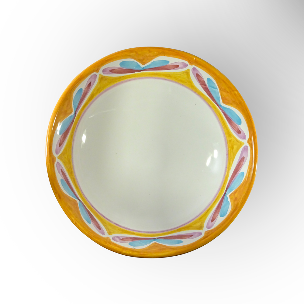 serving bowl (top view)