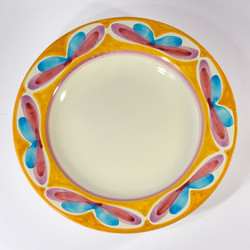 flat plate (top view)
