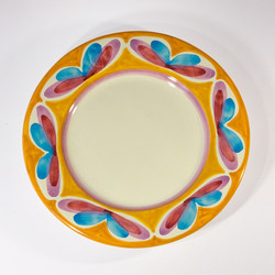 Fruit plate (top view)