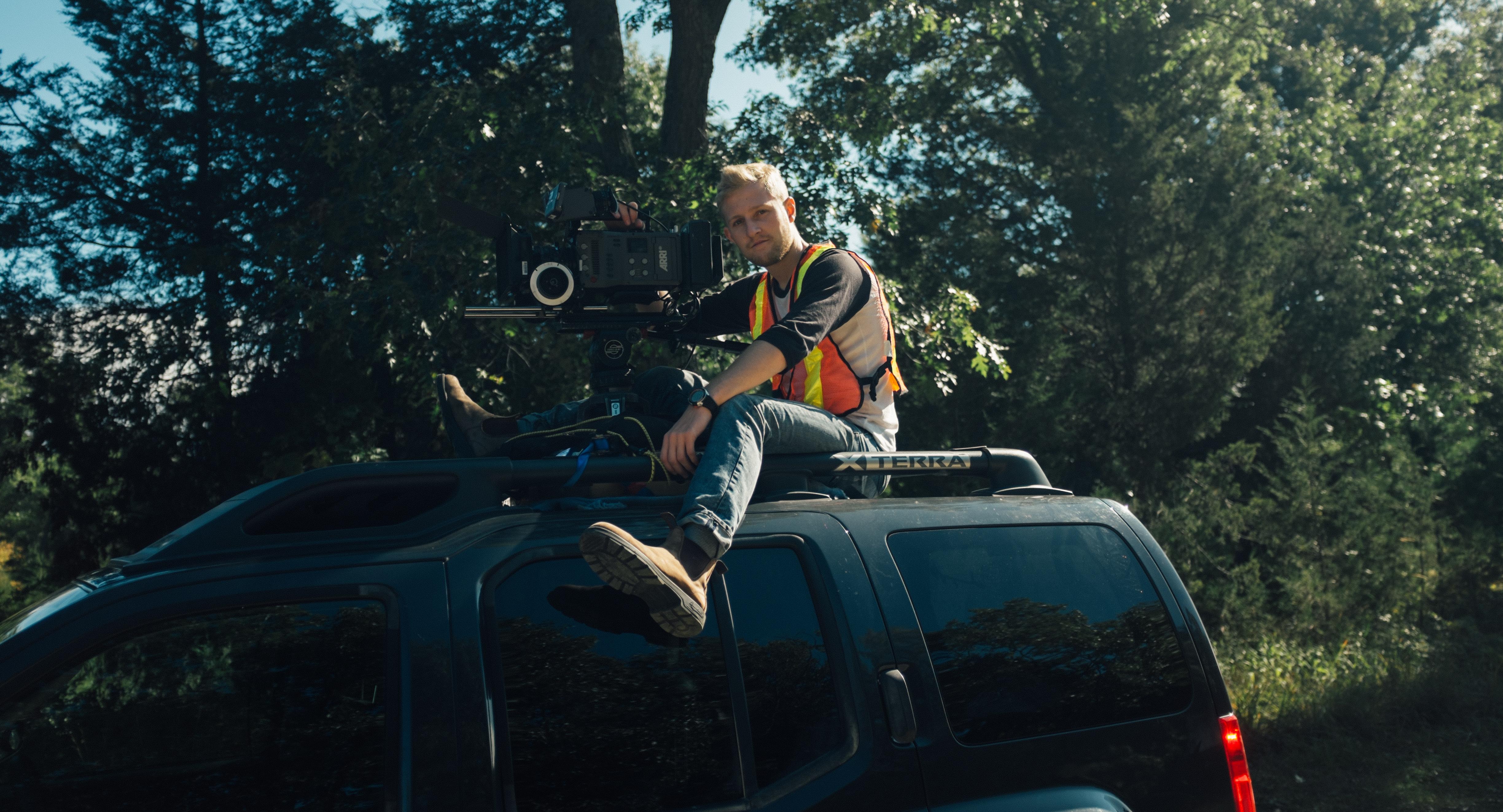 Cinematographer Filip Funk