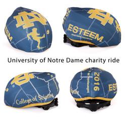 Custom helmet cover