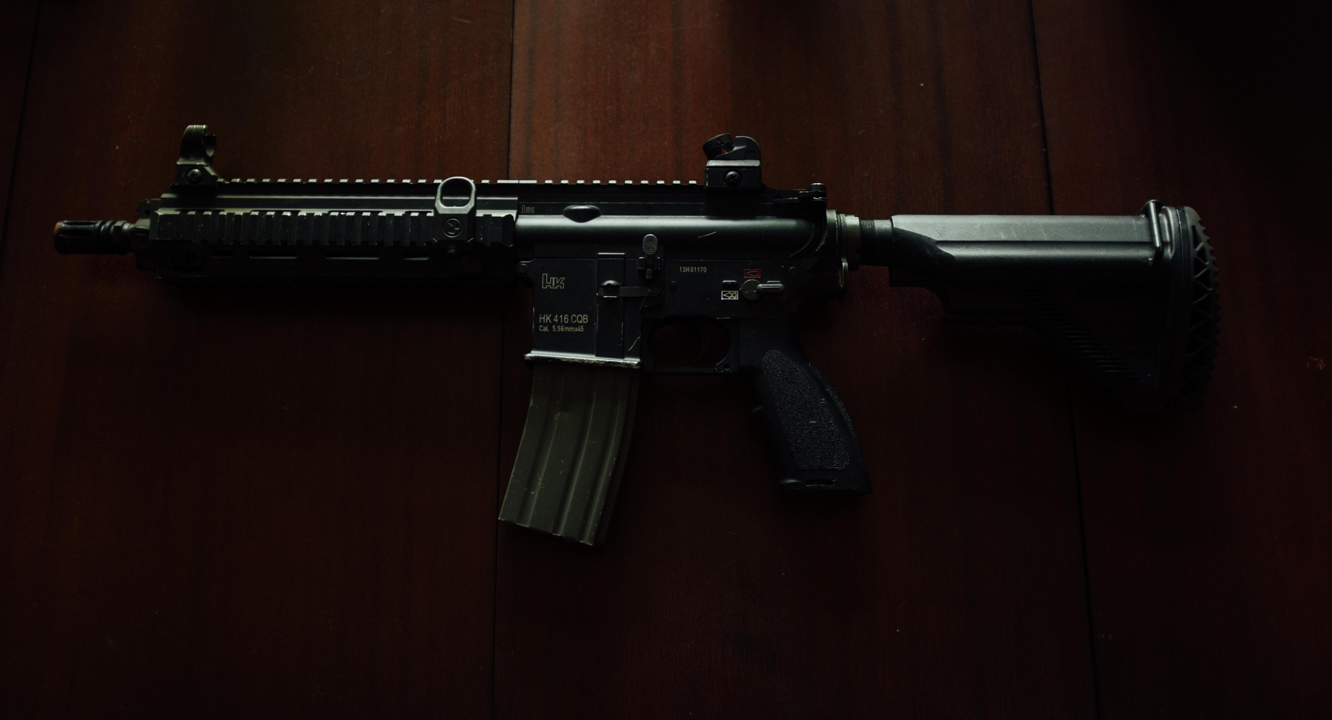 Prop gun on the set of Game