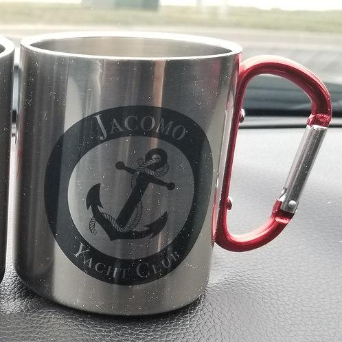 JYC Stainless Carabiner Mug