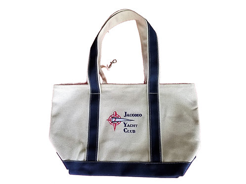 JYC Tote Bag, Embroidered