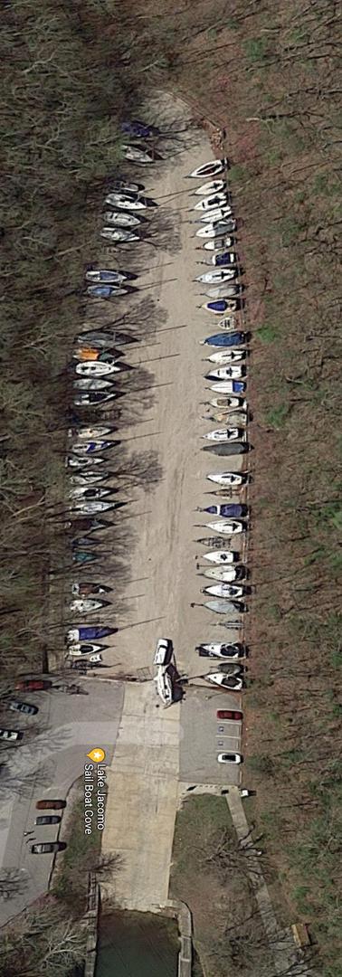 Sailboat cove dry storage
