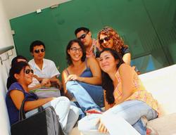 Alumnos en el INTER