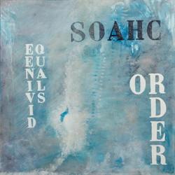 """""""Divine Order""""   90x90       sold"""