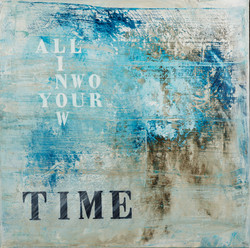"""""""Time""""   100x100    sold"""