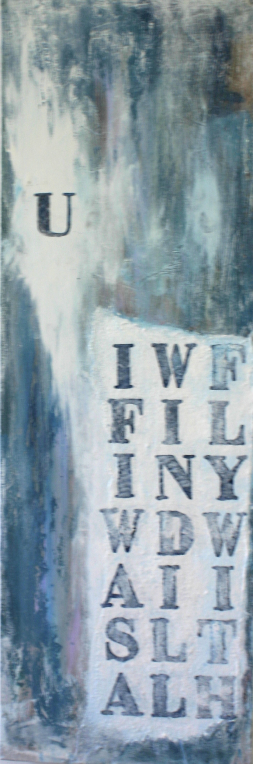 """If I was a wind""  40x98    sold"