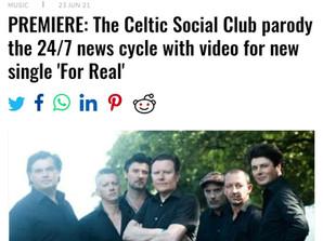 The Celtic Social Club séduit l'Irlande et l'institution HOT PRESS