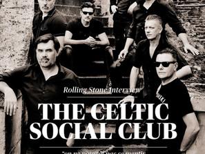 THE CELTIC SOCIAL CLUB en UNE de ROLLING STONE !!!