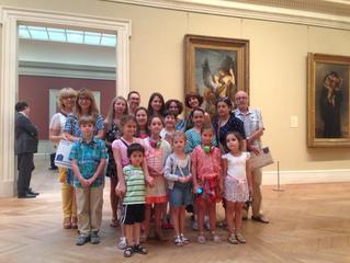 Art Students of Farber Ballet School Go To Metropolitan Museum of Art