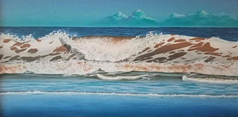 North sea surf
