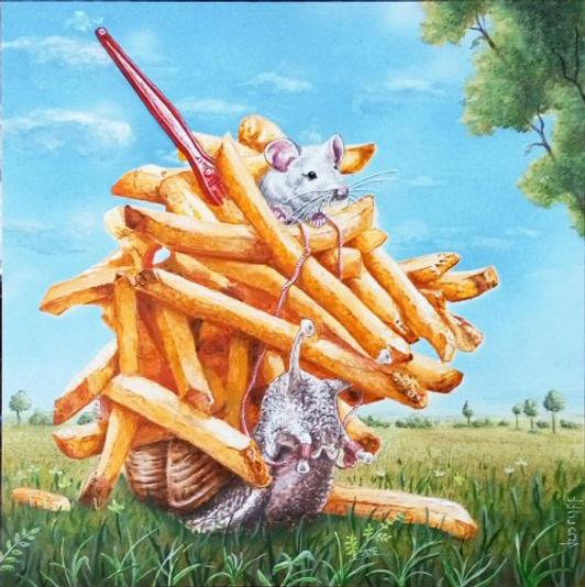 Slowfood  French fries