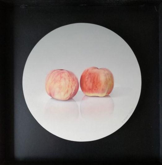twee perzikken