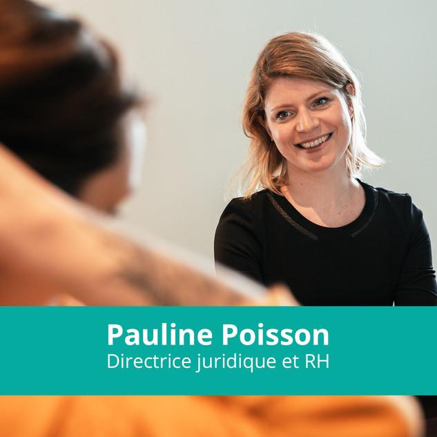 Pauline Poisson Directrice juridique et RH WeScale