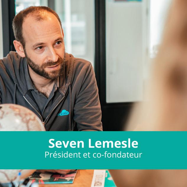 Séven Lemesle Président et Co-fondateur de WeScale